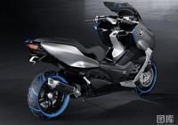 BMW观念速克达Concept C重机车